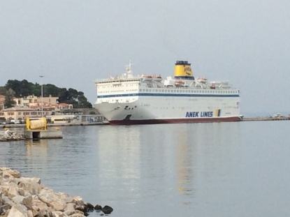 Athens ferry